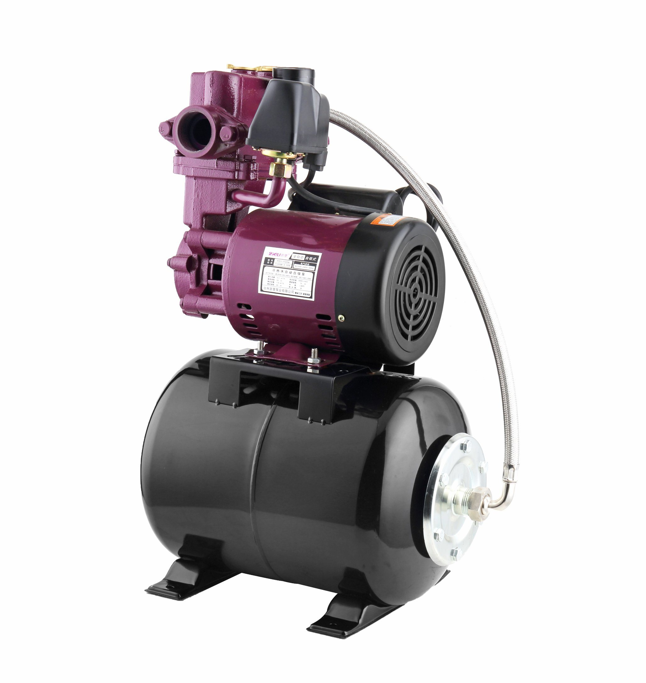 Best Price India Useful 1hp 1 5hp 220v Electric Motor Self Priming Auto Automatic Water Pump