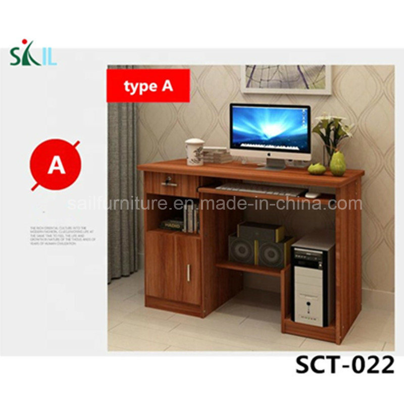 China Simple Wood Computer Table Desk