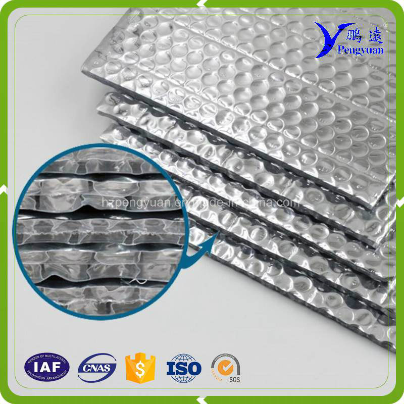 Double Sided Aluminum Foil Bubble for Roof Insulation of Metal Frame Building pictures & photos