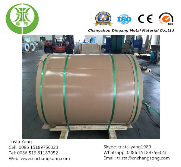 0.30-0.55mm Thickness Color Coated Aluminium Coil, 3003 H19