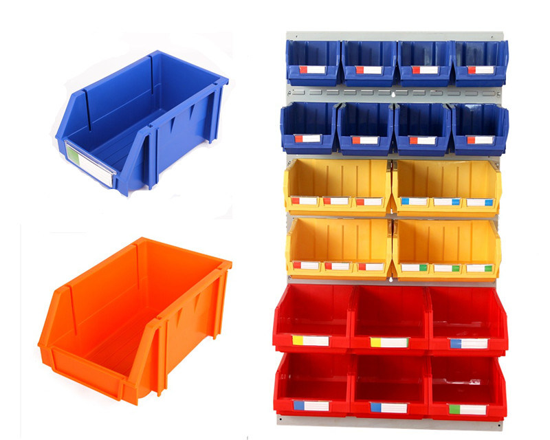 Tool Parts Organizer Plastic Stack and Back Hang Storage Bin& Box pictures & photos