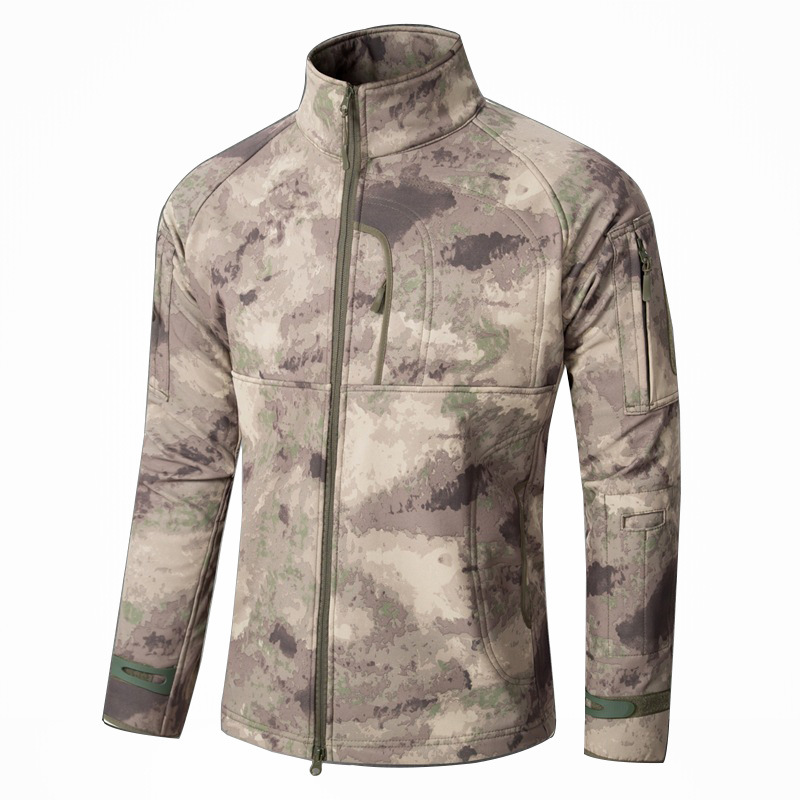 China Wholesale Popular Commander Soft Shell Combat Assault Jacket
