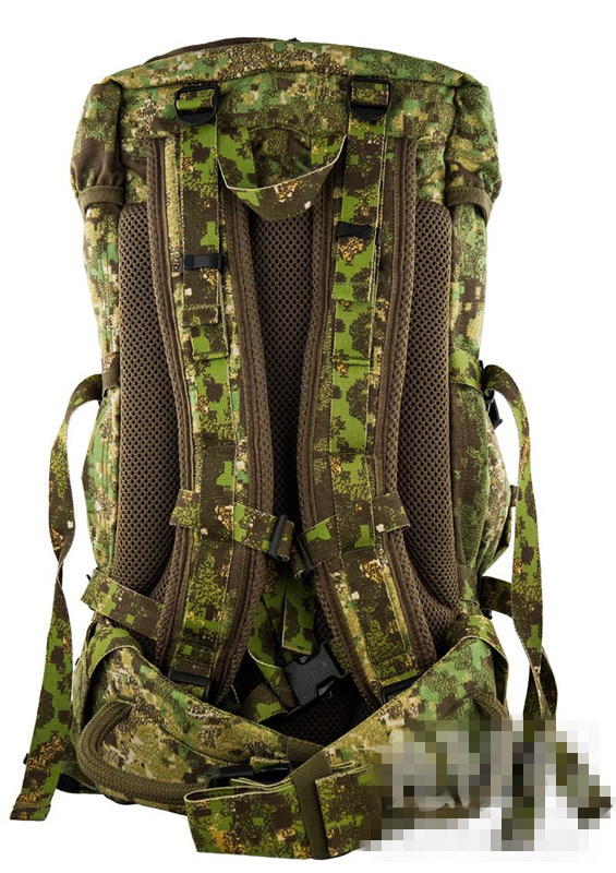 European Style Large Size Military Multicam Tactical Water-Proof Hiking Backpack