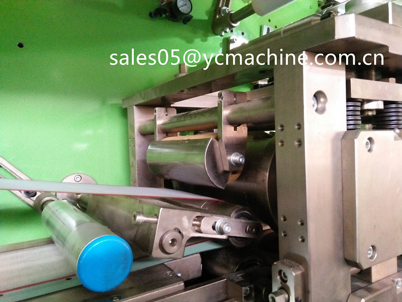 Economic Full Width Waistband Pampers Baby Diapers Making Machine with Magic Eyes Detect System