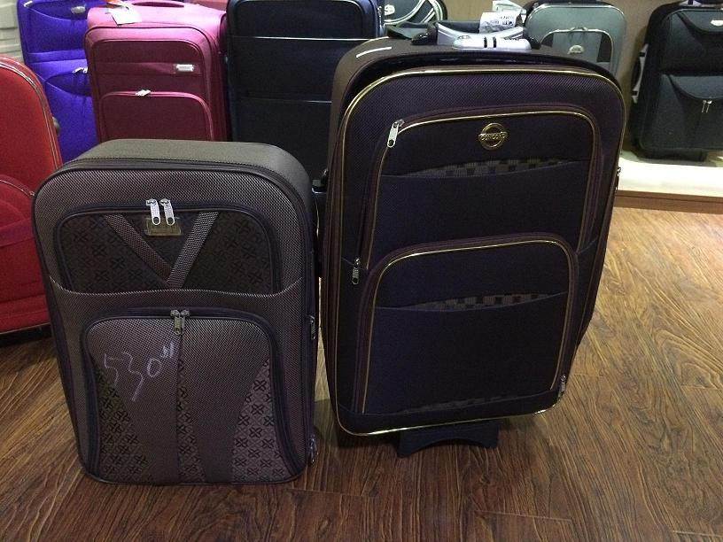 Shandong Silk Outside Trolley Case, SKD Luggage