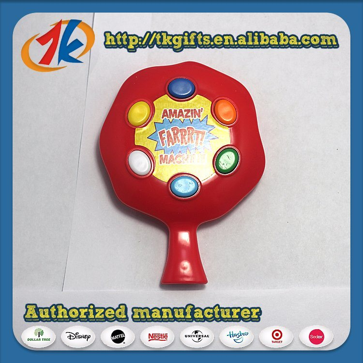 [Hot Item] Hot Selling Electric Fart Machine Toy Plastic Funny Sounds Toy  for Children