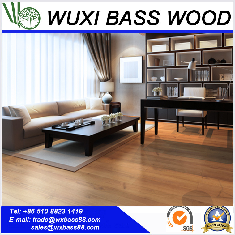 China Roman Golden Oak Laminate Flooring Laminated Floor