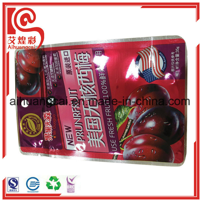 Stand up Plastic Bag Aluminum Food Bag