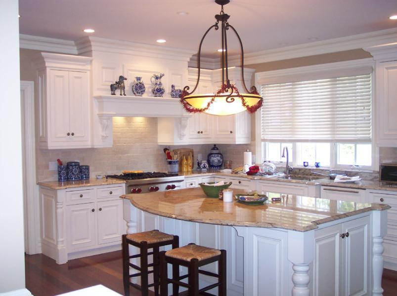 China White Kitchen Cabinet - China Real Wood Kitchen ...