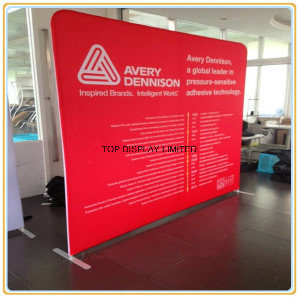 Fabric Exhibition Stand Up : China tradeshow pop up straight curve exhibition display fabric