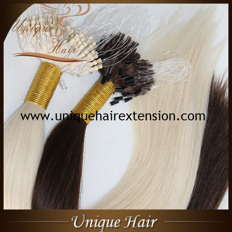 China Wholesale Russian Remy Micro Ring Hair Extensions China