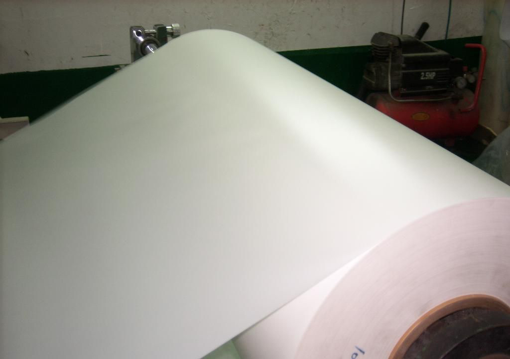 China Rohs Pvc Thin Plastic Sheet Opaque White Pvc Film
