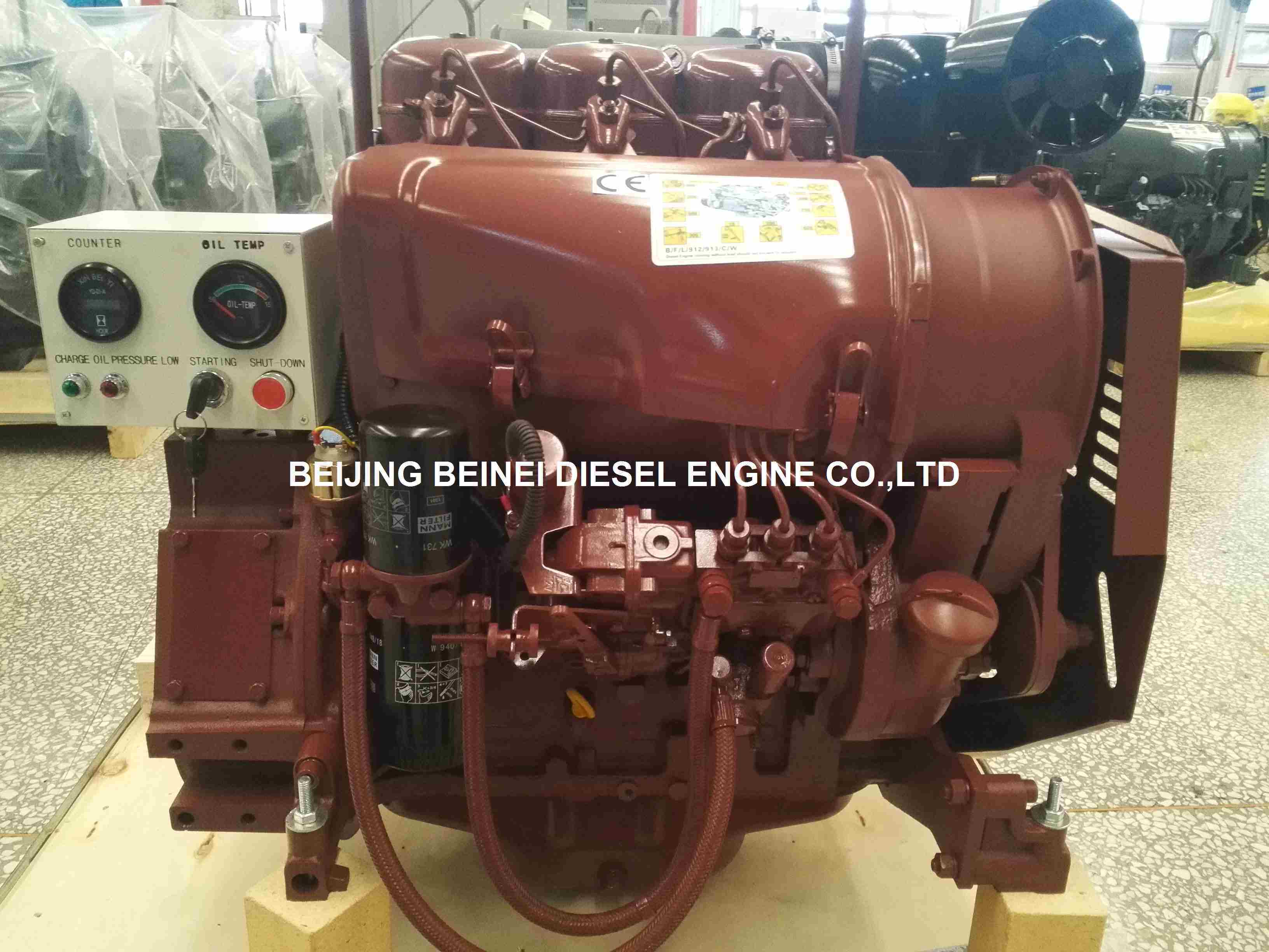 Diesel Engine Air Cooled Deutz F3l912 for Road Paver