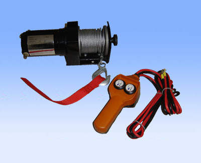 [Hot Item] Portable1500lb Mini Electric Winch with Remote Control