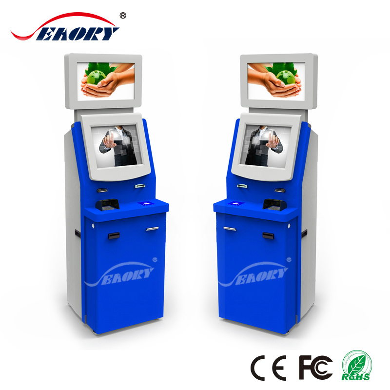 China Dual Touch Screen Self Service Business Card Printing ...