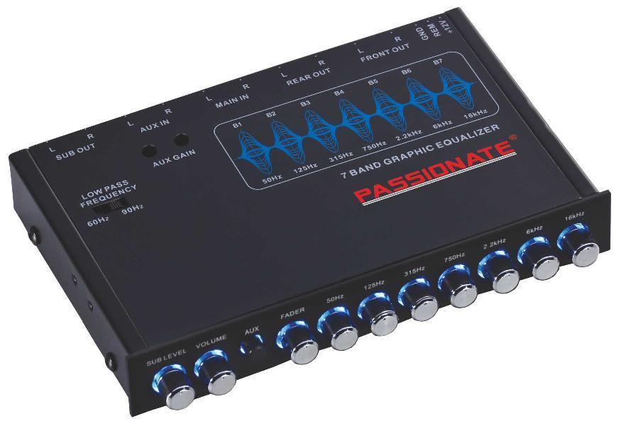 Hot Item Top Grade Car Audio Equalizer