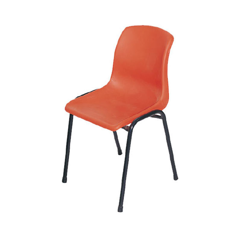 china wholesale price ergonomic school promotional plastic chair