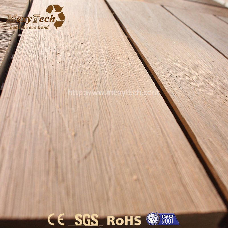 China Cheap High Quality Easy Installation WPC Plastic Deck Tile for ...