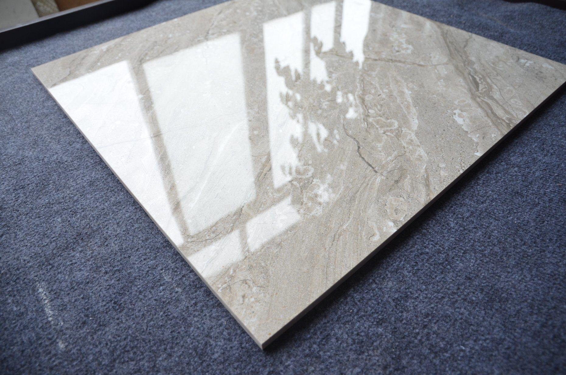 China Hot Sale Grey Bathroom Glazed Ceramic Tiles for Floors Photos ...