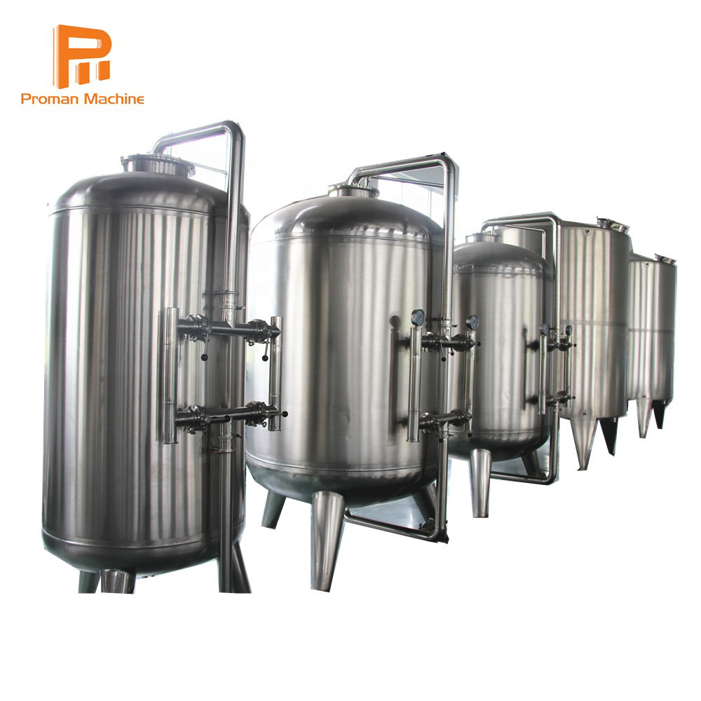 4000bph Drinking Water Bottling Plant Use Water Treatment Plant Reverse Osmosis Water System