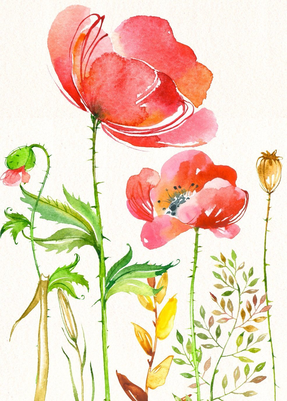 China Modern Pretty Flower Handmade Oil Painting For Wall Art