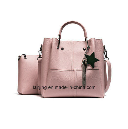 2017 Latest Fashion OEM Service Wholesale 3 Pieces Leather Hand Bag Ladies  Bags Handbag 52e2888f45590