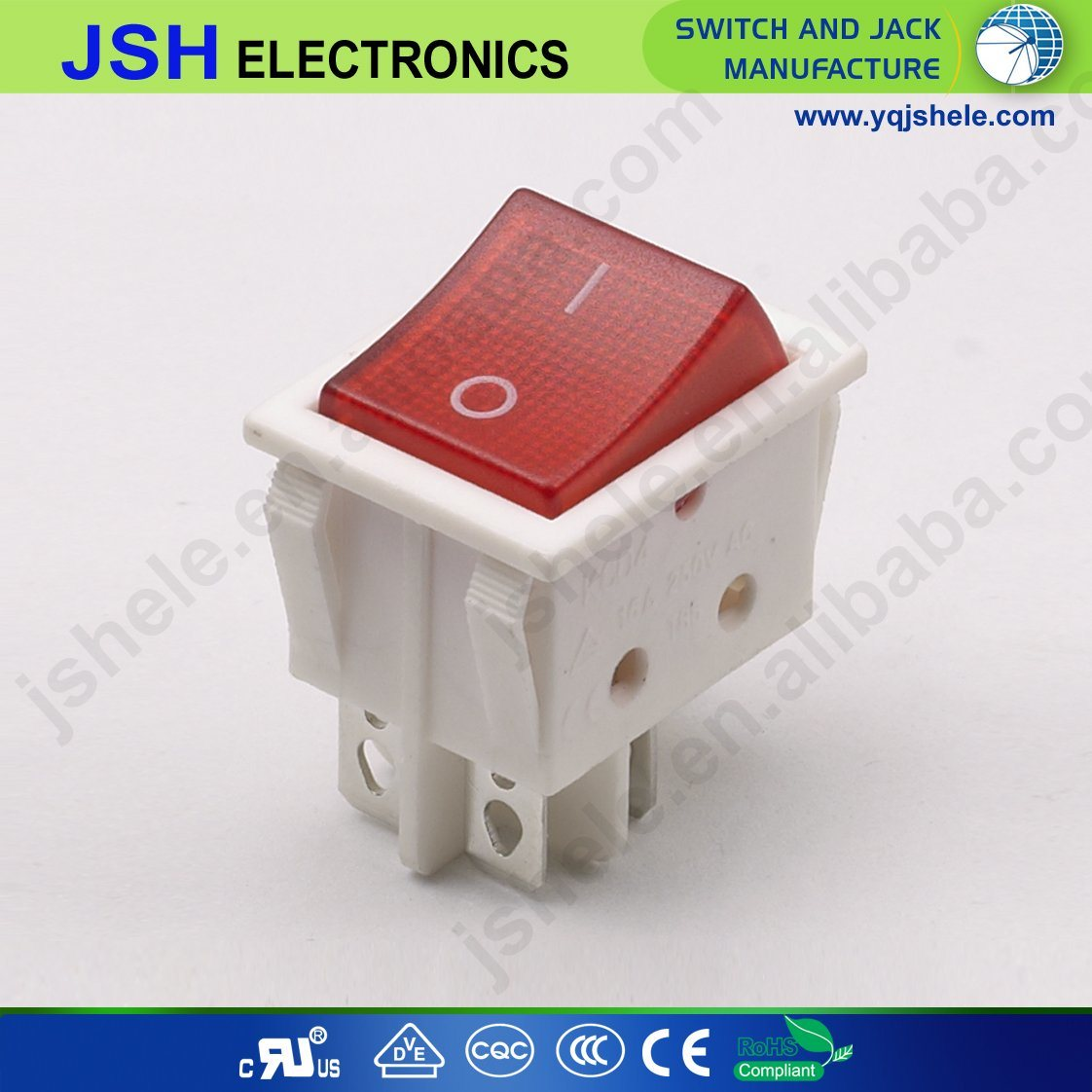 China Electrical Power Rocker Switch With 220v Light Photos For Wiring Toggle Diagrams Kcd1 5