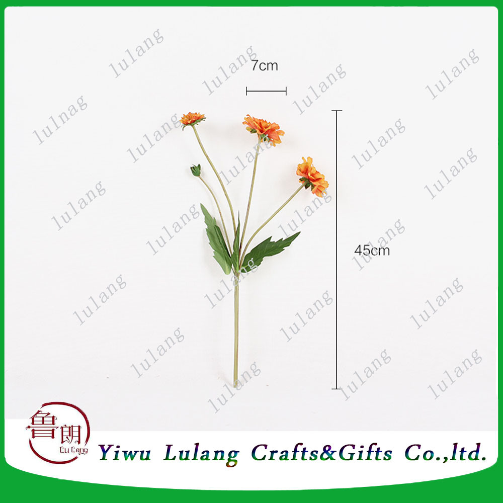 China Artificialplasticsilk Flower Windmill Chrysanthemum Flowers