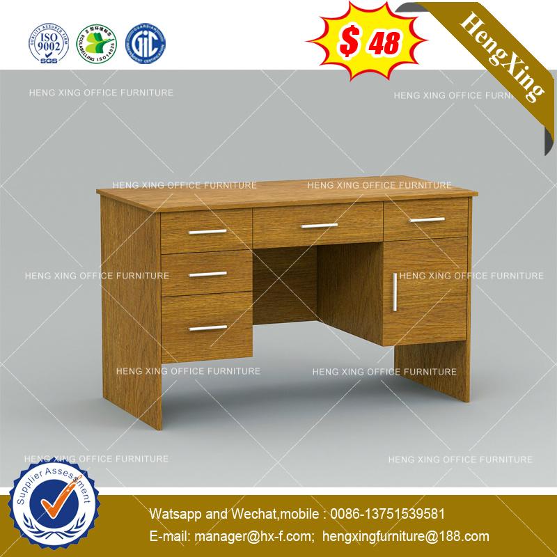 China Stock Lots Hutch Cabinets Maple Color Computer Desk Hx 8ne013c Table