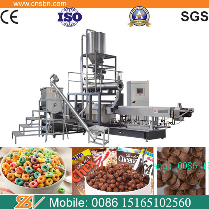 Automatic Breakfast Cereals Corn Flakes Making Machine Production Line pictures & photos