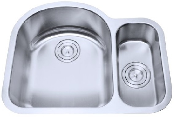 China Undermounted/Inset Stainless Steel Double Bowl Bar Sink ...