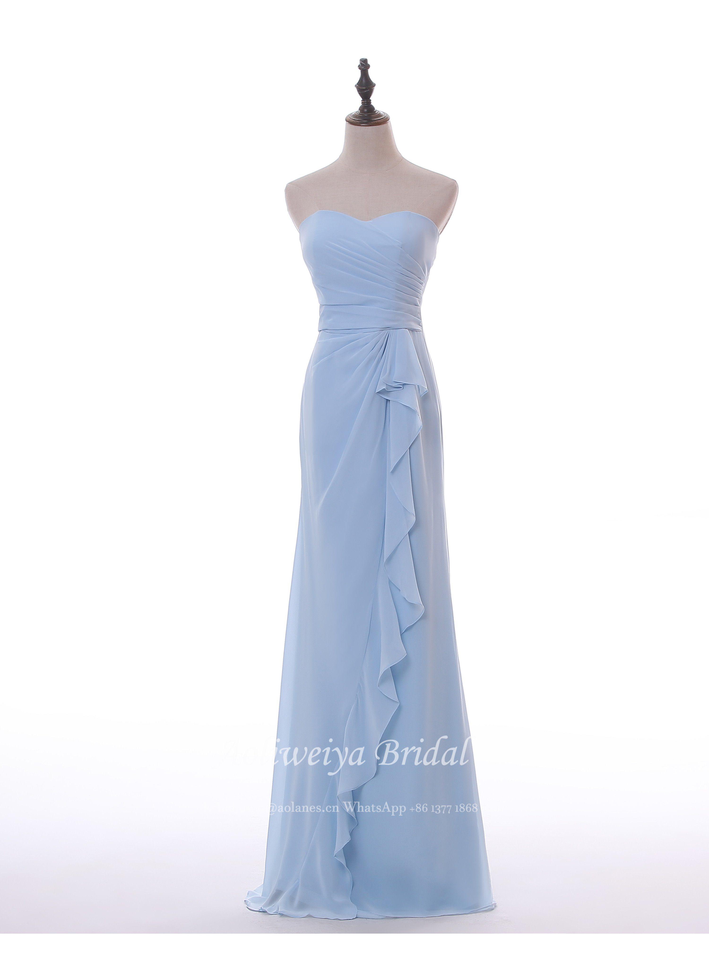 China Aolanes Fours Colors Wedding Bridesmaid Dresses - China ...