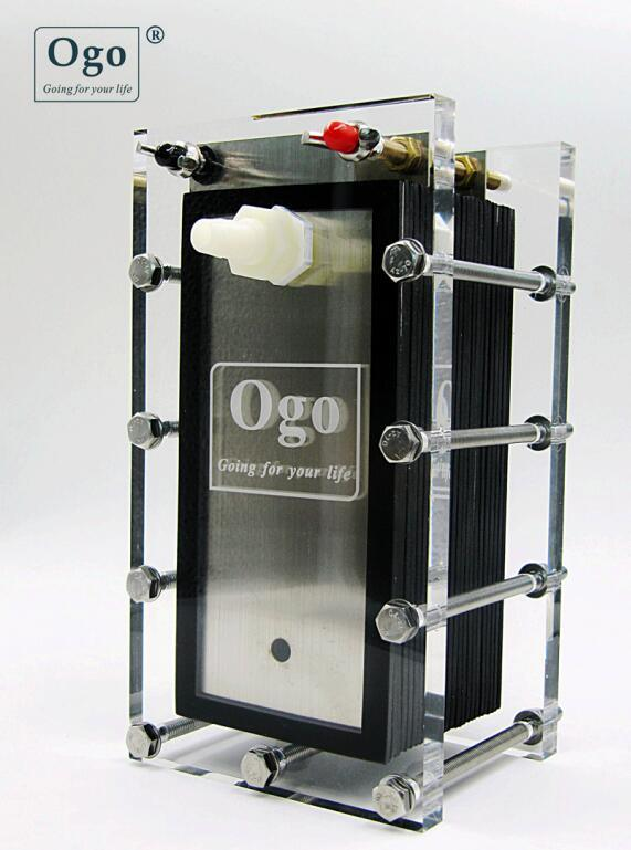 New ogo hho gas generator 25plates less consumption more.