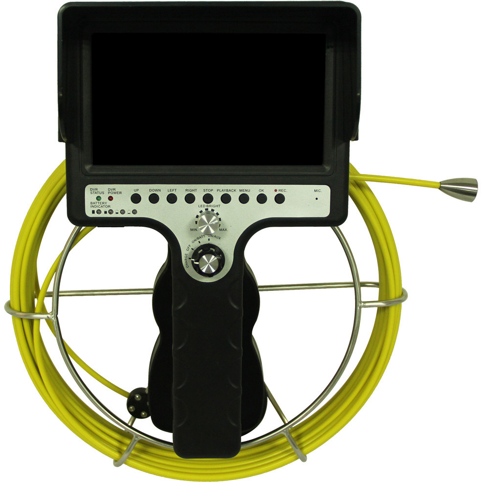 CCTV Pipe Sewer Drain Inspection Camera System with DVR Function