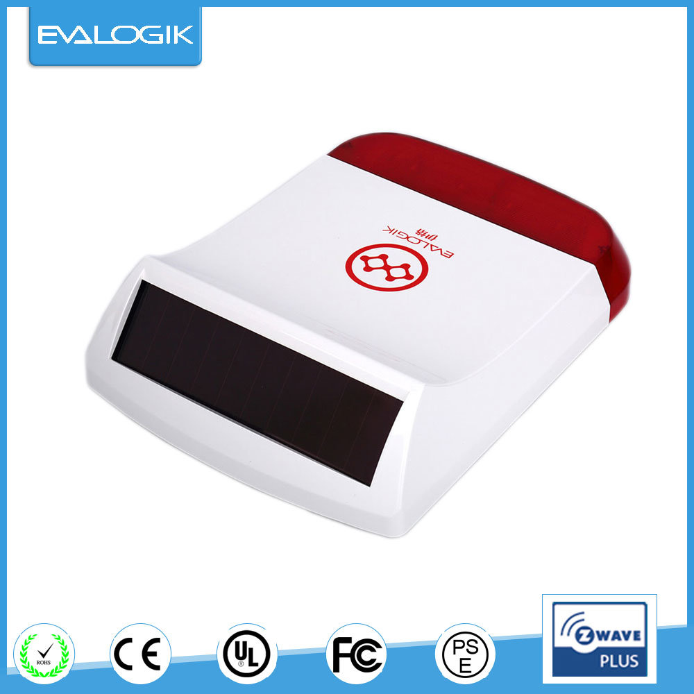 [Hot Item] Outdoor Use Siren Strobe Alarm Box for Home Security
