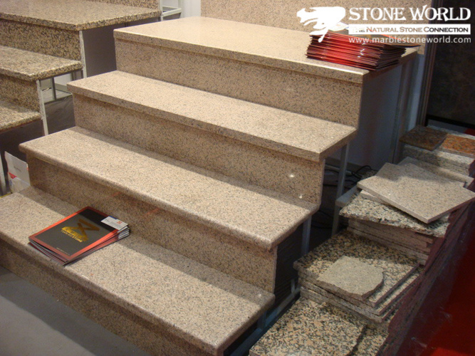 China Granite Stair Steps For Indoor St013 Stone