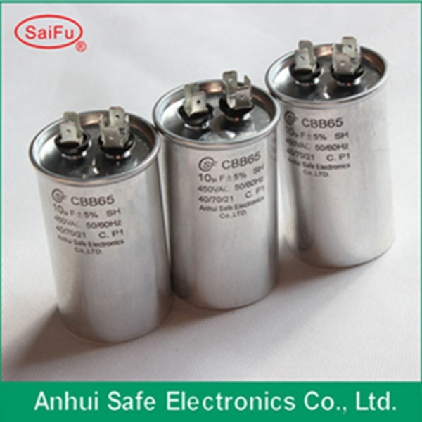 [Hot Item] Air Conditioner Capacitor Cbb65 35UF 60UF 250V 450V Capacitor