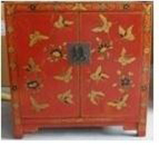 Chinese Antique Furniture Butterfly Cabinet