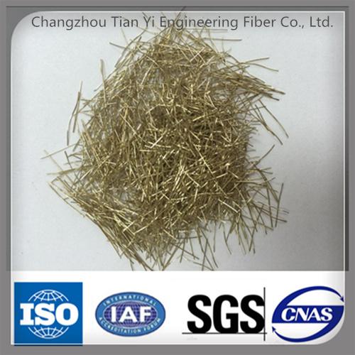 [Hot Item] Cooper Coated Micro Steel Fiber, Ty-CS, Concrete Fiber  Reinforced Fibres