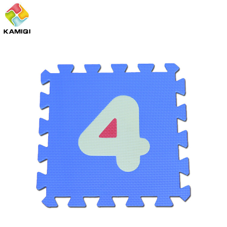 Baby Enducation EVA Gym Foam Number Mat pictures & photos