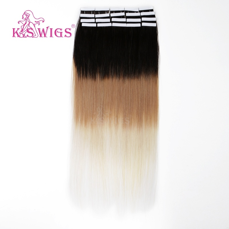 K. S Wigs Factory Wholesale Price Tape Hair 100% Brazilian Human Hair pictures & photos