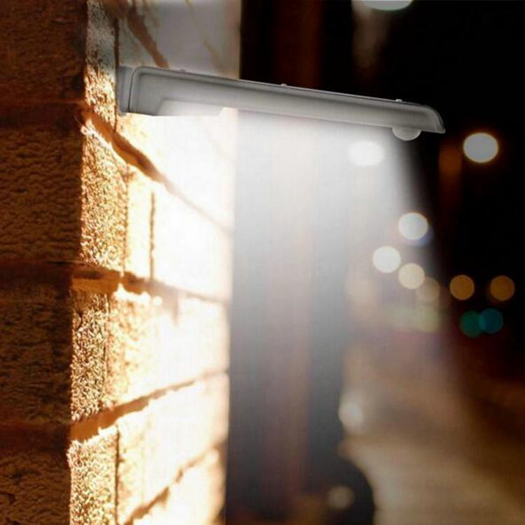 Solar Powered Panel 25 LED Street Light Solar Motion Body Sensor Light Outdoor Garden Path Spot Light Wall Lamp Luminaria pictures & photos