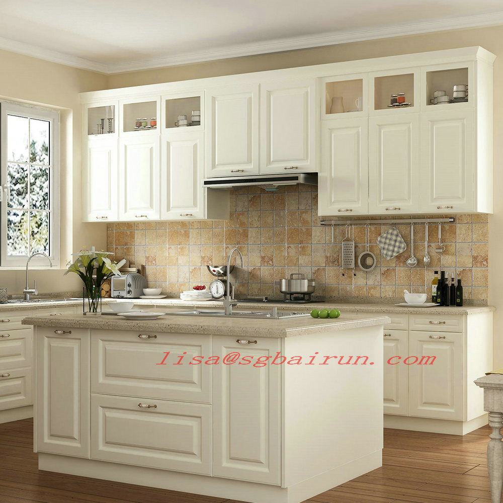China None Frame American Mfc Modular Shaker Kitchen Cabinet China