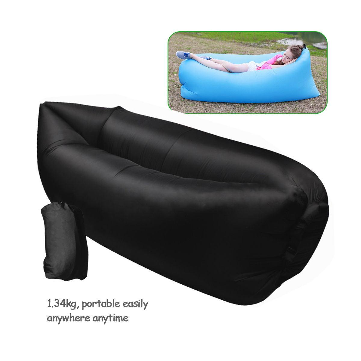 China Hot Ing Inflatable Bed Lazy Sleeping Air Bag