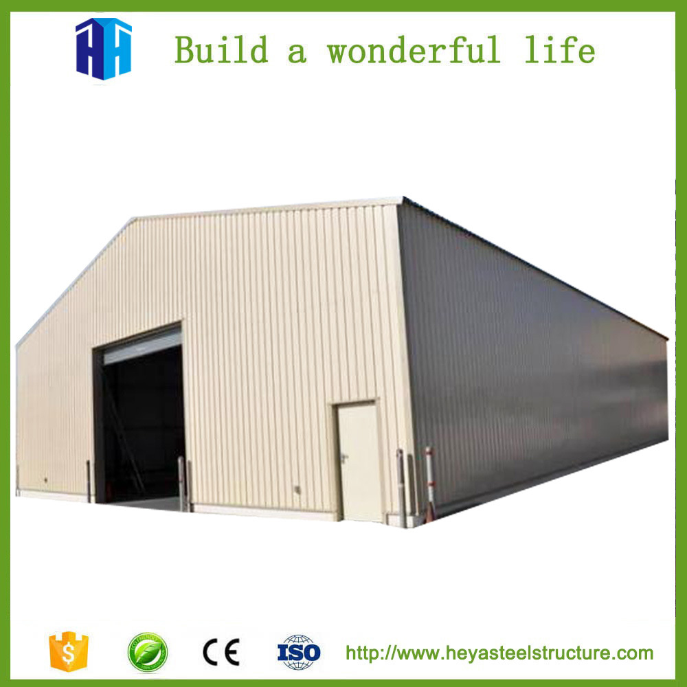 China Anti Earthquake Steel Frame Structure Warehouse Construction ...