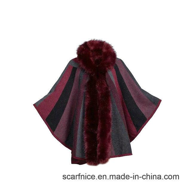 China Autumn Winter New Fashion Women Striped Knitted