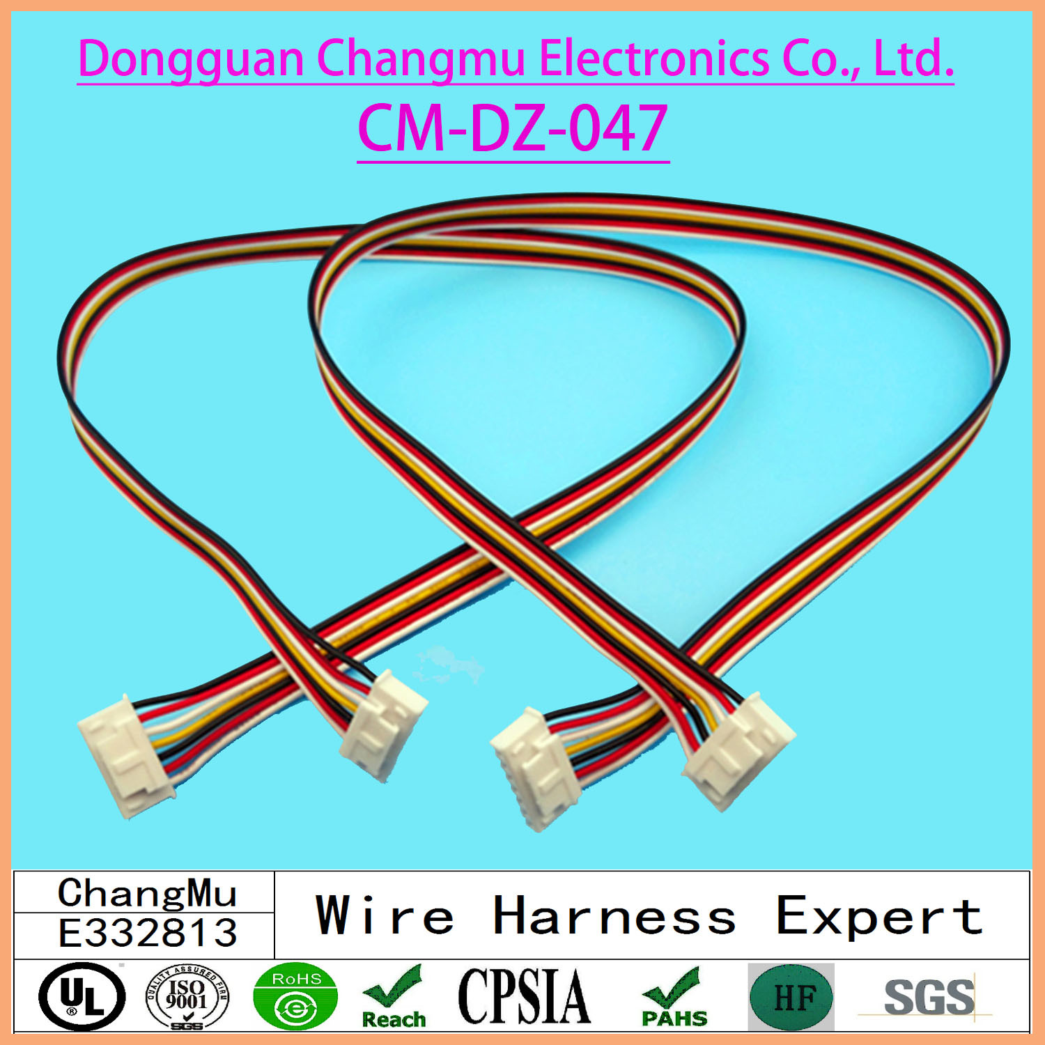 China Motorcycle Control Cable Power Wiring Harness Cord Manufacturers Suppliers