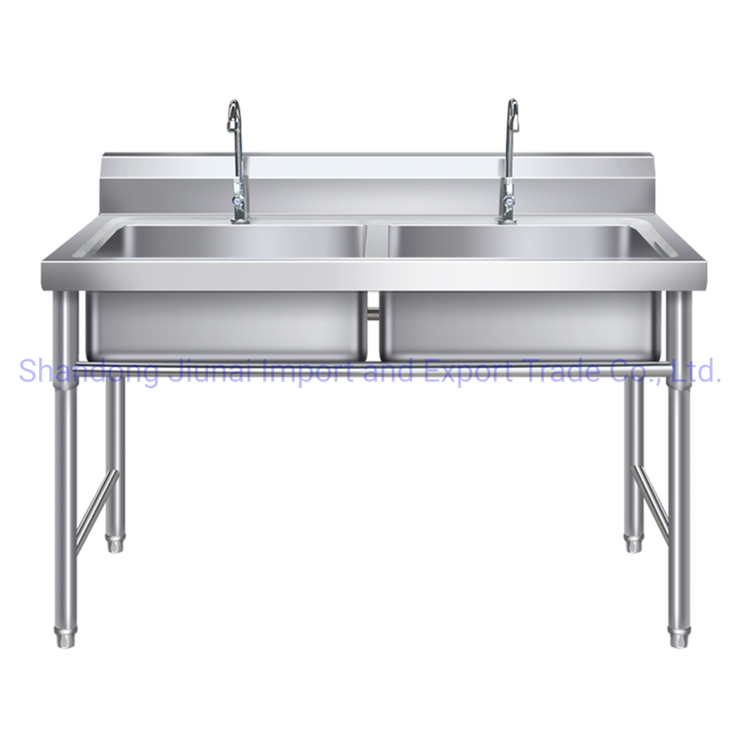 Picture of: China Commercial Kitchen Stainless Steel Sink With Drainboard Photos Pictures Made In China Com