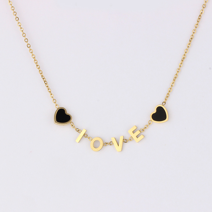 237d7646b54db [Hot Item] New Design Personalized 14K Love Name Plated Girl Necklace  Jewelry