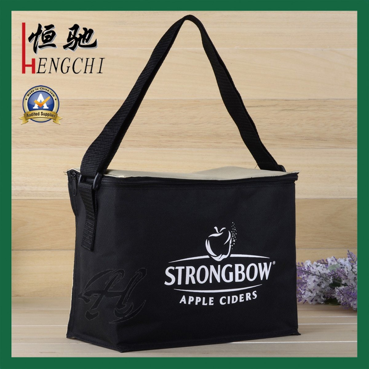 Non Woven Insulated Picnic Cooler Bag for Food pictures & photos